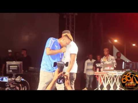 the street concert - fans run mad as olamide performances Pepper Dem Gang
