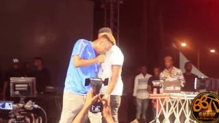 the street concert - fans run mad as olamide performances Pepper Dem Gang