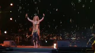 Shakira - Whenever Wherever. (Ojos Asi Dancing) Live at The O2 London.