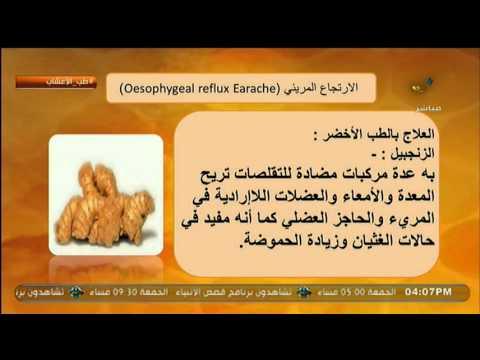 الزنجبيل يستخدم فى علاج ارتجاع المريىء طب الأعشاب Youtube