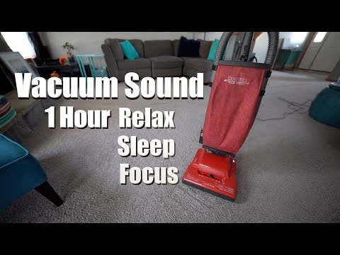 Vacuum Sound and Video - Hoover Encore Supreme 1 Hour - Relax, Sleep, ASMR