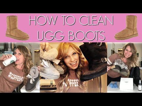 HOW TO CLEAN UGG BOOTS - with Ugg cleaning kit