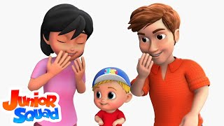 Ha Ha Songs For Kids | Nursery Rhymes Songs For Children By Junior Squad