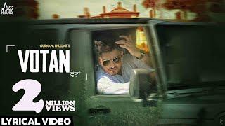 New Punjabi Songs 2016   Votan    Gurnam Bhullar   Latest Punjabi Songs 2016   Jass Records