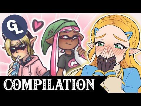 The CUTEST Zelda Comic Dub Compilation - GabaLeth