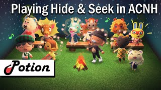 Playing Hide And  Seek in Animal Crossing: New Horizons with Friends