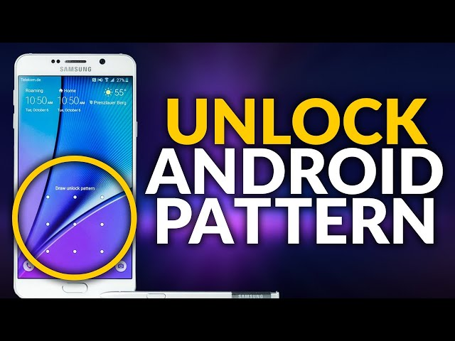 Unlock Forgotten Pattern Lock On Android Phone 2021 | Remove Android Lock Screen