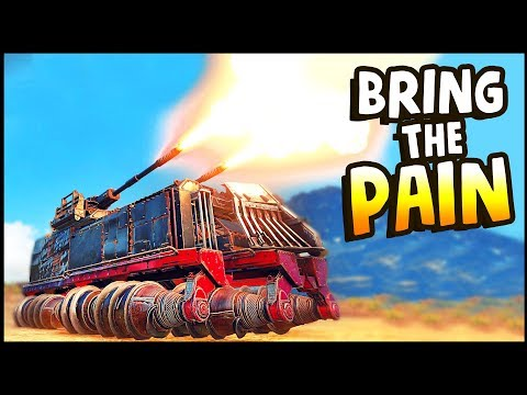 Crossout - MASSIVE BEAST! BRING THE PAIN! (Crossout Gameplay)
