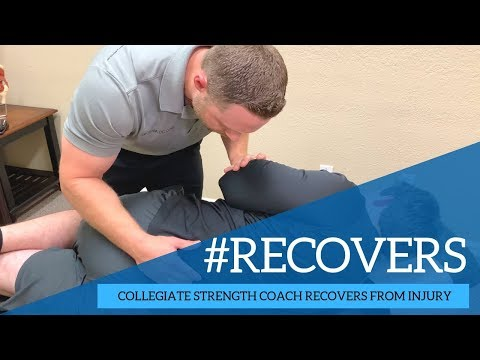 Collegiate Strength Coach Recovers From Injury | Chiropractor Friendswood