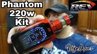 Rev-Tech Phantom 220w Kit Review - Mike Vapes