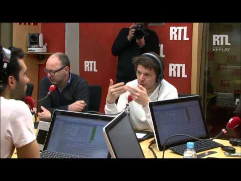 Martin Fourcade dans RTL Grand Soir mercredi 25 mars 2015 - RTL - RTL