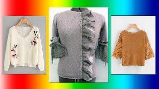 Модели вязания.Декорирование вязаных изделий .