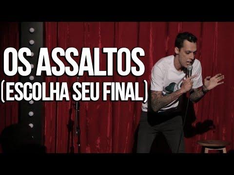 ASSALTOS E A VIOLÊNCIA NO BRASIL - NIL AGRA - STAND UP COMEDY