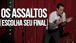 ASSALTOS E A VIOLÊNCIA NO BRASIL - NIL AGRA - STAND UP COMEDY thumbnail