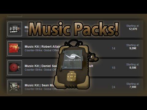 CS:GO Music packs!