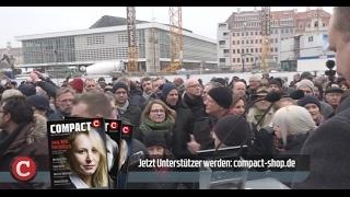 Dresdner protestieren gegen Dschihadisten-Verherrlichung