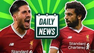 TRANSFER NEWS: Mo Salah & Luke Shaw to Barcelona? Emre Can Injury and more! ► Daily Football News