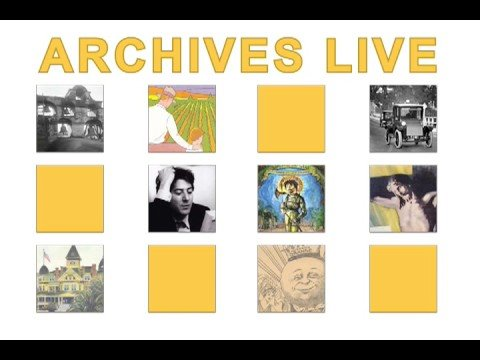 Archives Live! The 3rd Annual Los Angeles Archives Bazaar