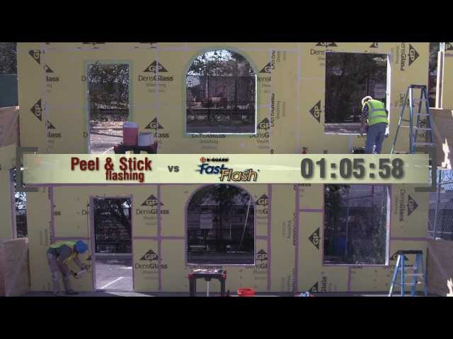 Air Barrier Challenge:  FastFlash vs. Peel and Stick