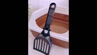 고양이 화장실 청소 통 탈취 모래삽 변기 용품 방지 냄…