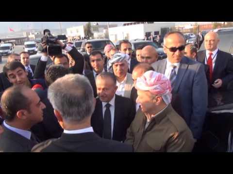 Barzani ve Perver, Habur'dan giriş yaptı