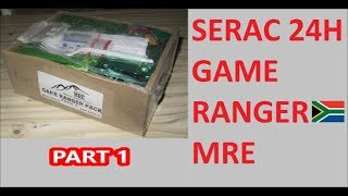 South African Ration Review: 2018 SERAC 24H Game Ranger Pack Menu 3 part 1 of 2