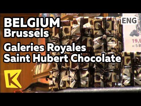 【K】Belgium Travel-Brussels[벨기에 여행-브뤼셀]세인트 허버트 로열 갤러리/Galeries Royales Saint Hubert/Chocolate/Arcade