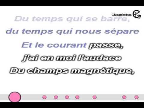 """Canción """"A contre-courant"""" de Alizée (lyrics/sous-titres/paroles... on screen)"""