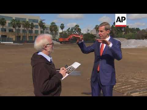 George Lucas breaks ground on LA's Museum of Narrative Art