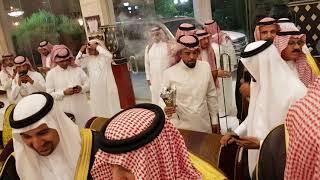 استقبال الامير احمد بن عبدالعزيز بمزرعة الشريف احمد بن سلطان الفعر