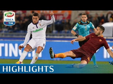 Roma - Fiorentina - 4-0 - Highlights - Giornata 23 - Serie A TIM 2016/17