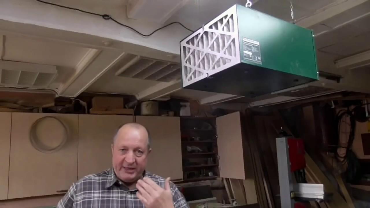 Модернизация потолочного фильтра RECORD  POWER AC 400 Предфильтр от КАМАЗа.