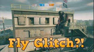 CRAZY FLY GLITCH! On every map! Rainbow Six Siege
