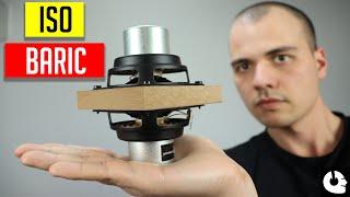 Isobaric subwoofer box design