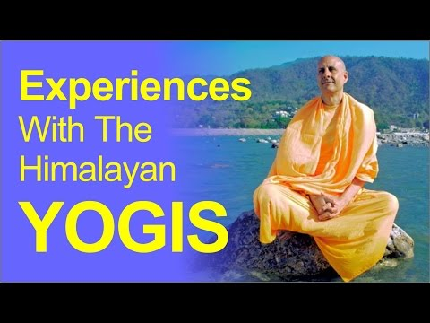 My Experiences with the Himalayan Yogis by HH Radhanath Swami