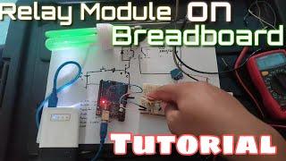 Hardware Development - Relay module on breadboard [Tutorial]
