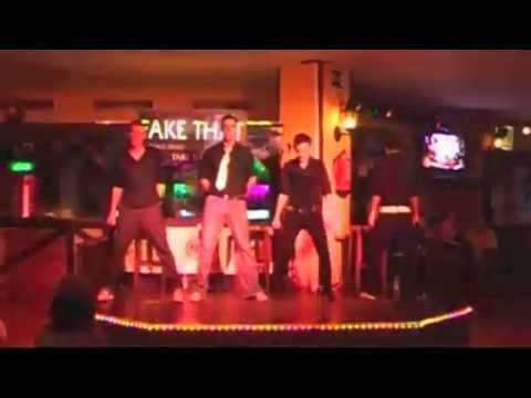 Alfie White in Take that Tribute Ibiza 2008