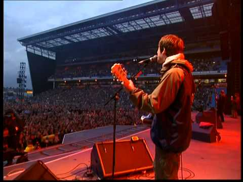 Oasis - Acquiesce HD (Live at Maine Road