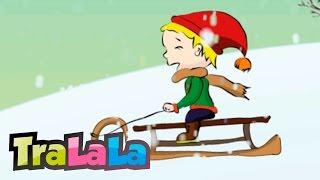 Săniuța fuge - Cântece de iarnă pentru copii | TraLaLa