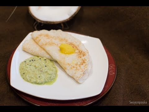 Kayi Dosa |  Vegan  and Gluten free Coconut Rice dosa | Dosa recipes