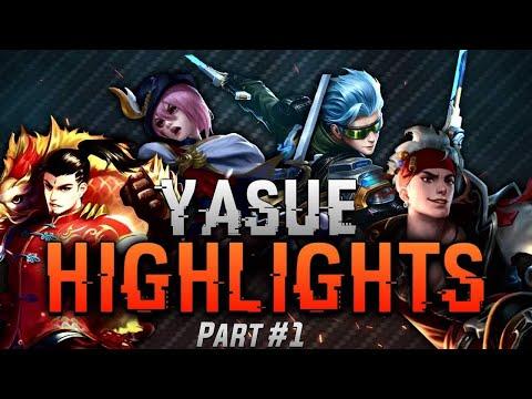 Yasue Highlights #1 Insane Play | -Mobile legends Bang Bang