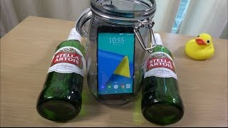 OnePlus 3T Beer Freeze Test 10 Hours - Will It Survive? (4K)