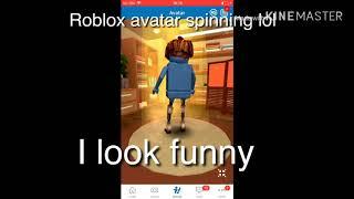 Roblox avatar girando