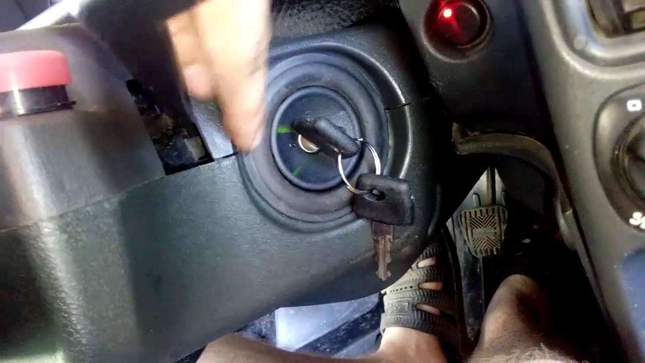Замена замка зажигания на ваз 2115 - YouTube