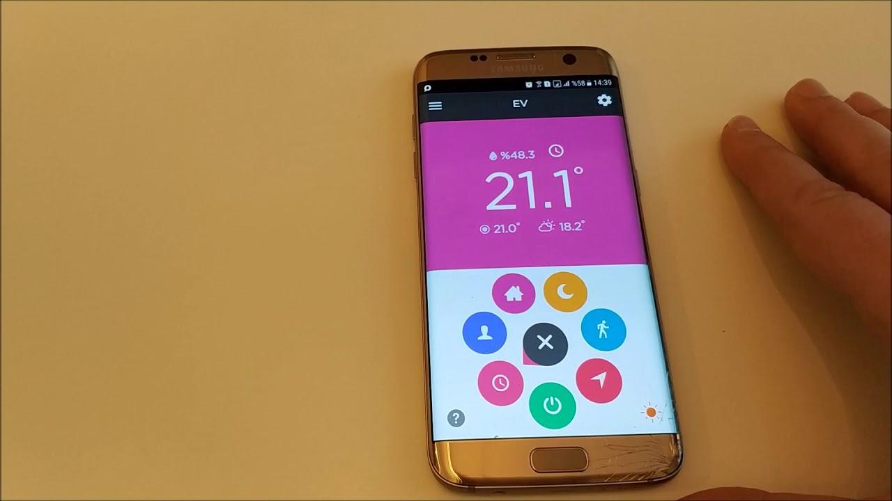 Telefondan Kombi Kontrolü   Cosa Akıllı Termostat