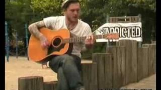 Gaslight Anthem - High Lonesome acoustic   GETADDICTED.ORG