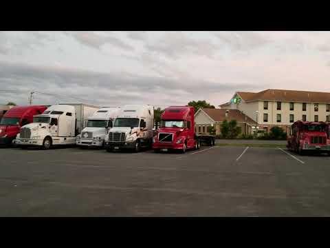 Дальнобой США //Новая работа и новая машина у студента Руслана. 2019 Freightliner Cascadia
