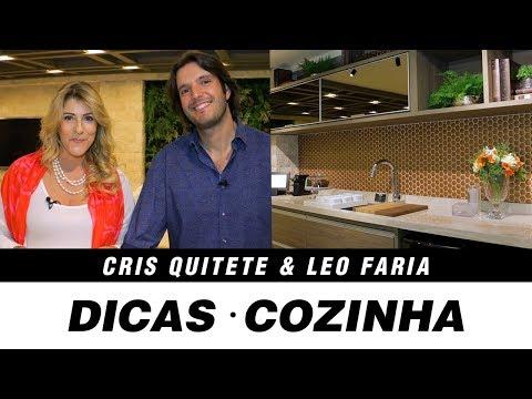 Dicas Para Cozinhas Com Os Arquitetos Cris Quitete E Leo Faria