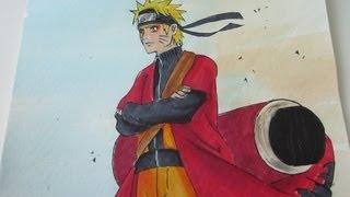 Drawing Naruto Sage Mode (FMP 2013 Drawing Contest) ナルト 仙人モード
