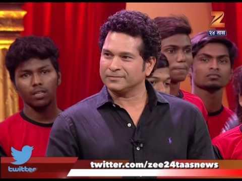 Sachin Tendulkar In Chala Hawa Yeu Dya Set